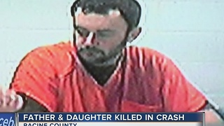 Driver charged in crash that killed father, daughter from Racine County - Video