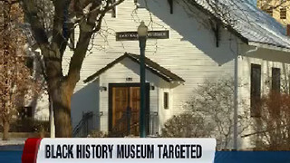 Racial slur written in snow at Black History Museum in Boise - Video