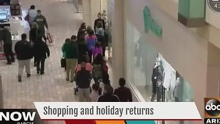 Shopping and holiday return tips - Video