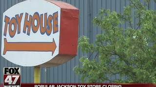 Jackson's Toy House announces it's closing shop after 67 years - Video