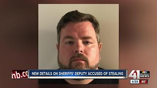 Wyandotte County deputy accused of forgery and misconduct out on bond - Video