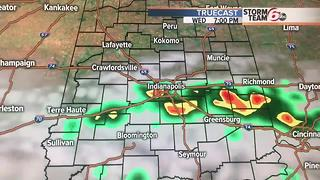 Sct. PM Storms Possible - Video