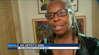 Milwaukee woman bringing art to the heart of the city - Video