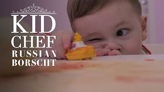 Kid Chef: How (not) to make Russian Borscht - Video