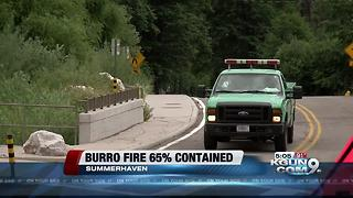 Mt. Lemmon restrictions ease as Burro Fire fades - Video