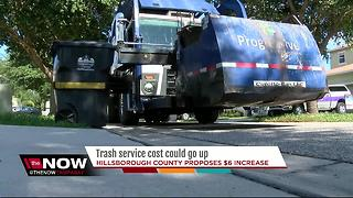 Trash service cost could go up
