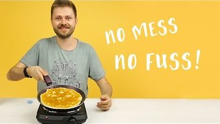 Simple and clever pancake mix life hack - Try it out! - Video