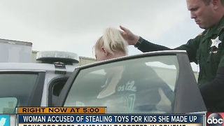 Polk deputies arrest 'Grinch' for stealing from 'Toys for Tots' - Video