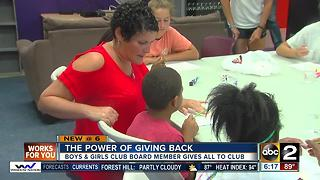 Cancer survivor inspired to give back to Boys and Girls Club - Video