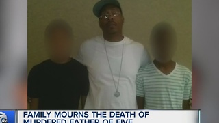 Family mourns murdered father of five - Video