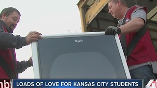 Loads of love delivered to KC schools - Video