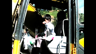 7 Year Old Drives Digger - Video