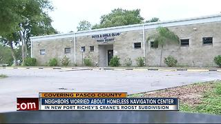 Pasco residents worried about homeless navigation center - Video