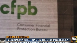 Let Joe Know: Consumer Financial Protection Bureau looking out for everyday Americans - Video