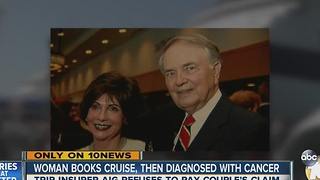 Woman books cruise, then diagnosed with cancer - Video