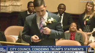 Baltimore City Council condemns Trump's statements - Video