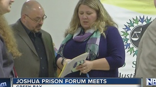 Prison support group meets - Video