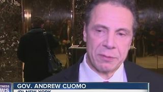 Trump, Cuomo discuss tax policy, health care - Video