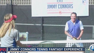 Jimmy Connors Tennis Fantasy Experience - Video