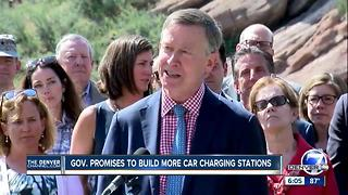 Colorado Governor John Hickenlooper announces new climate executive order - Video