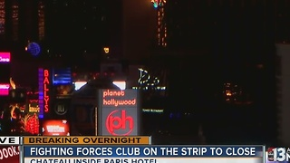 Paris nightclub shut down because of fight - Video