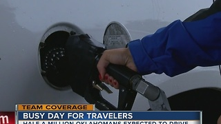 OK has lowest gas prices in U.S. in time for Thanksgiving travel - Video