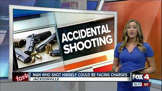 Man Accidentally Shoots Himself in Groin - Video