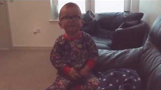 Young Boy Tells His Mother About His Future Zoo - Video