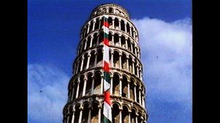 Tower of Pisa Gets Necktie - Video