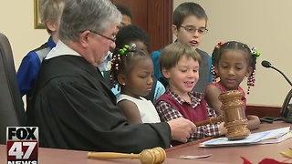 Judge Economy marks 30 years of Christmas adoptions - Video