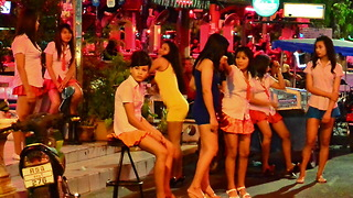 Thailand travel | Pattaya walking street 2016 - Video