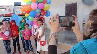 As Ceasefire Holds, Children in North Syria Celebrate Eid al-Fitr - Video