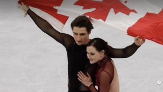 Ice Dancers Who Turned Heads with Their Spicy 'Moulin Rouge' Routine Share 'Unique' Relationship - Video