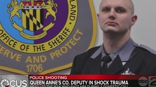 Queen Anne's Co. sheriff's deputy injured, fatally shoots suspect - Video