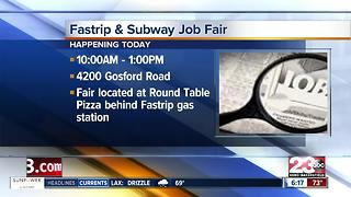 Fastrip and Subway Job Fair - Video