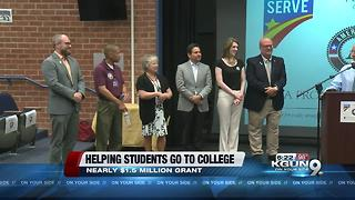 Program helps students attend college - Video