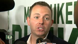 Milwaukee Bucks introduce new GM, Jon Horst - Video