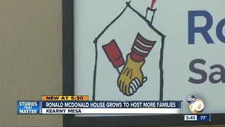 Ronald McDonald House opens new facility - Video