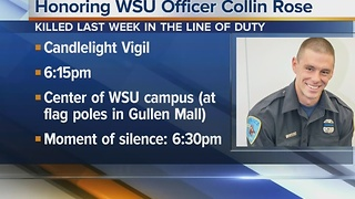 Remembering WSU Officer Collin Rose - Video