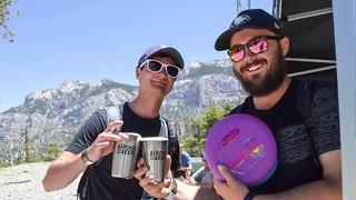 Lee Canyon combines disc golf and beer at Mountain Fest - Video