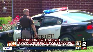 1 dead, 1 in custody after police-involved shooting in Mt. Airy - Video
