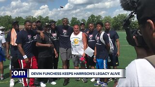 Devin Funchess keeps Harrison's legacy alive