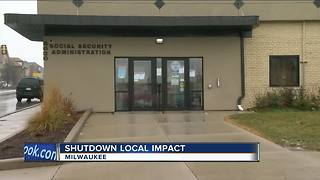 Government shutdown closes Milwaukee social security office