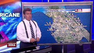 Hurricane Irma Update | Florida's Most Accurate Forecast with Denis Phillips on Wednesday at 9:00 pm - Video