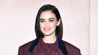 Lucy Hale Shares Throwback Photo Of Thin Brows
