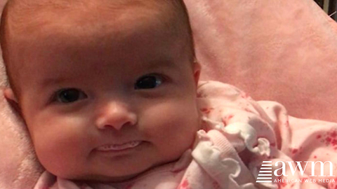 Mom Coos At Baby Expecting Smile, At Only 10 Weeks Old Her Response Is Record Breaking