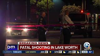 1 dead, 1 hurt in Lake Worth shooting - Video