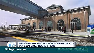 Regional Transit Authority expected to vote on mass transit plan