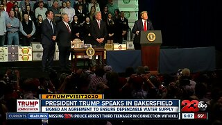 President Trump doubles down on efforts to increase water for Central Valley farmers