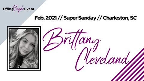 BRITTANY CLEVELAND - Top Tips // Super Sunday February 2021